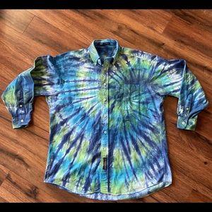 Men's Tommy Hilfiger Tie Dye Button Up
